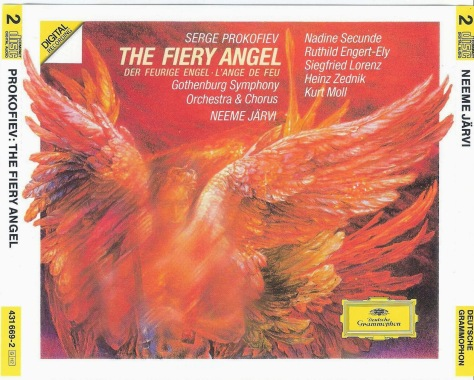 THE FIERY ANGEL Prokofiev